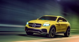 Official unveiling of the GLC Coupe Concept at Shanghai