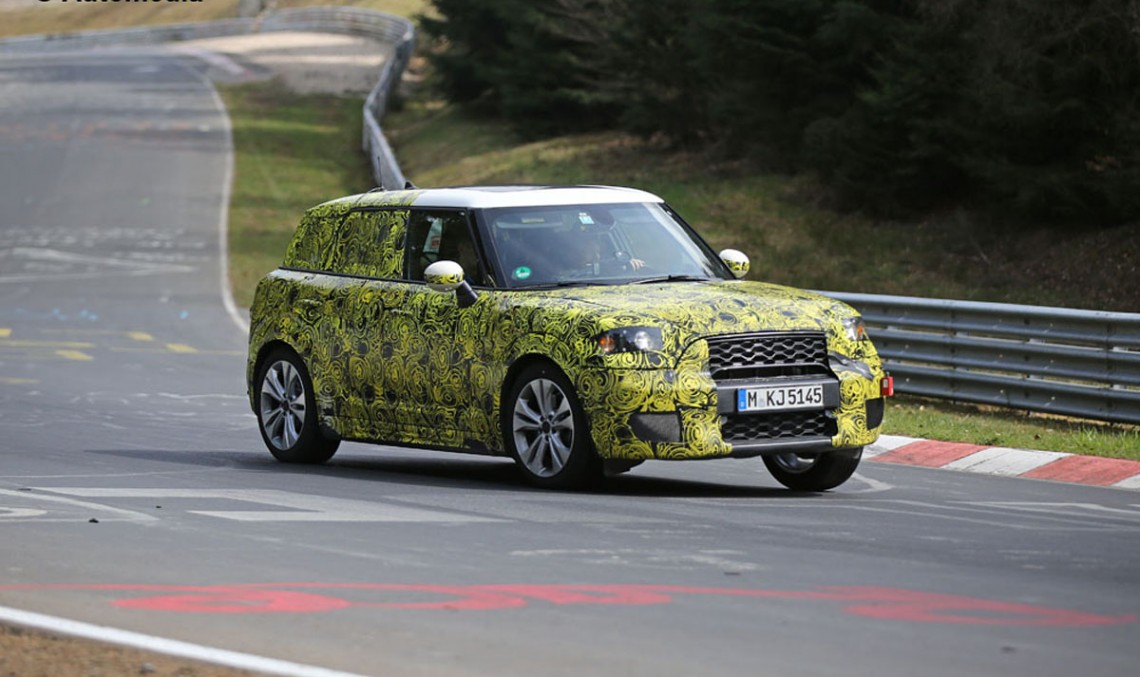 Spy shots: MINI Coutryman moving into GLA territory