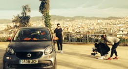 "Smart forfour stars in ""Ain't Nobody"" video"