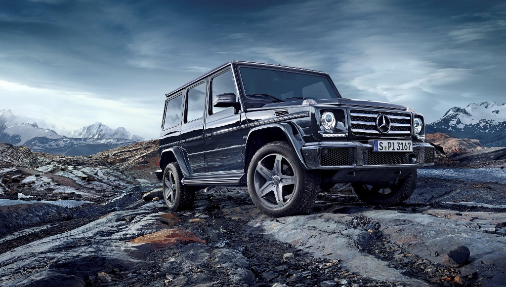 Mild update for an off road icon mercedes benz g class for Mercedes benz g class off road