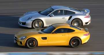 Fight of the year, take #153: 911 Turbo vs. AMG GT S
