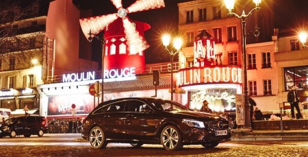 CLA Shooting Brake Paris
