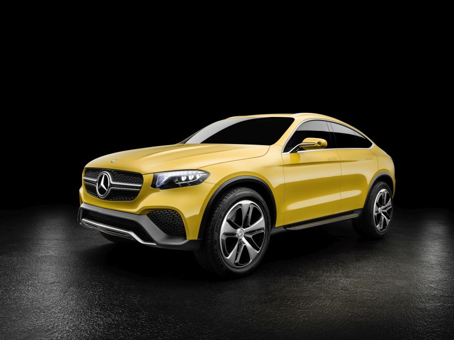 Mercedes-Benz Concept GLC Coupé; Lack: Solarbeam