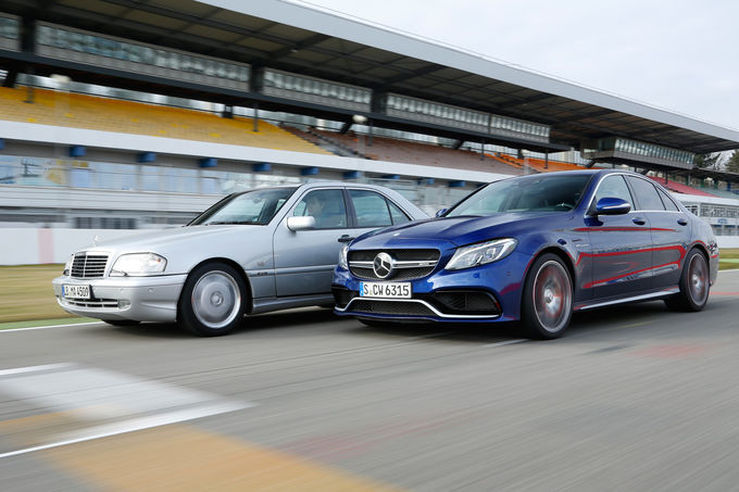 A fascinating comparison: Mercedes C 43 AMG vs Mercedes-AMG C 63 S