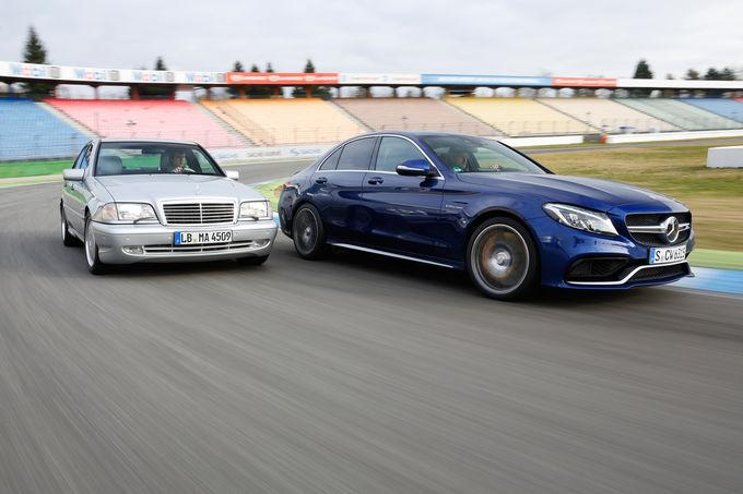 Mercedes C 43 AMG vs AMG C 63 S  15