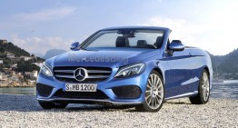 Hotly anticipated Mercedes-Benz C-Class Cabrio revealed