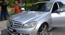 Man borrows Mercedes to steal shoes