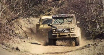 Raptor vs Predator: the American pickup truck vs the German G500 4×4²