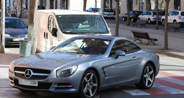 "Shakira parks her Mercedes ""Whenever, Wherever…."""