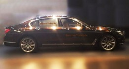 FIRST PICTURE. New BMW 7 Series uncovered
