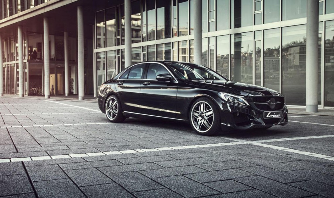 Mercedes-Benz C 400 tuned by Lorinser – pretty good job