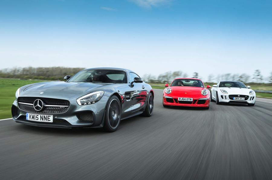 Mercedes-AMG GT S meets 911 GTS, F-Type R. And the winner is…