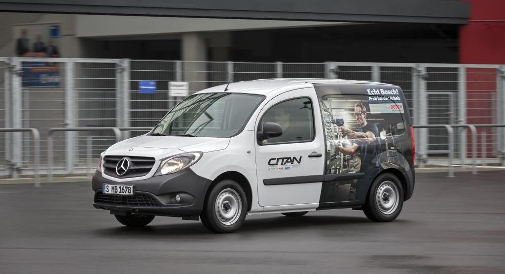 Mercedes-Benz Citan gets greener Euro 6 engines