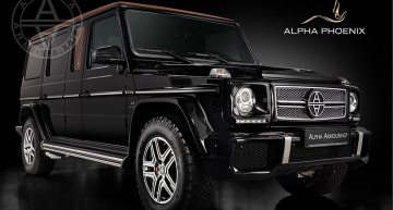 Alpha Phoenix is an off-road lifesaver based on G 63 AMG