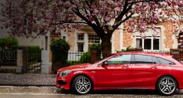 "The ""Urban Hunter"" CLA Shooting Brake reaches Brussels"