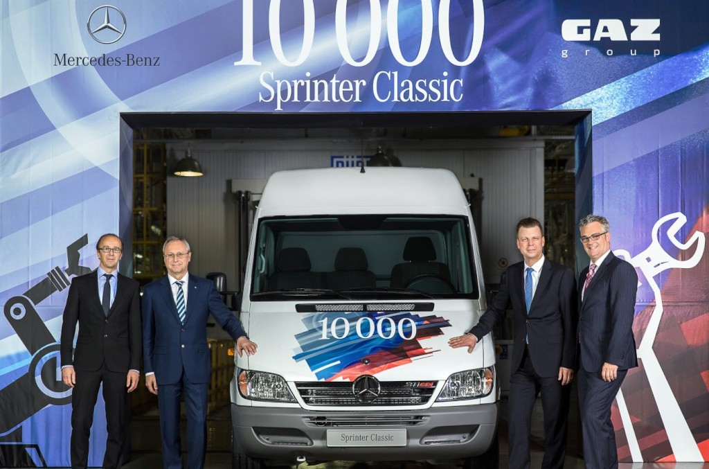 Record sales for Mercedes-Benz Vans in Russia