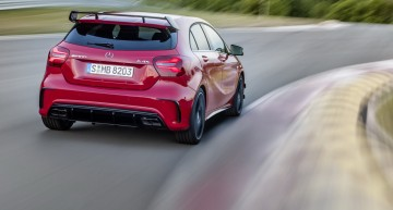 First video of the Mercedes A-Class facelift. Car made to go far!