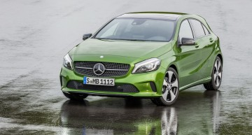 Mercedes-Benz A-Class facelift, yours from 23,746 euros