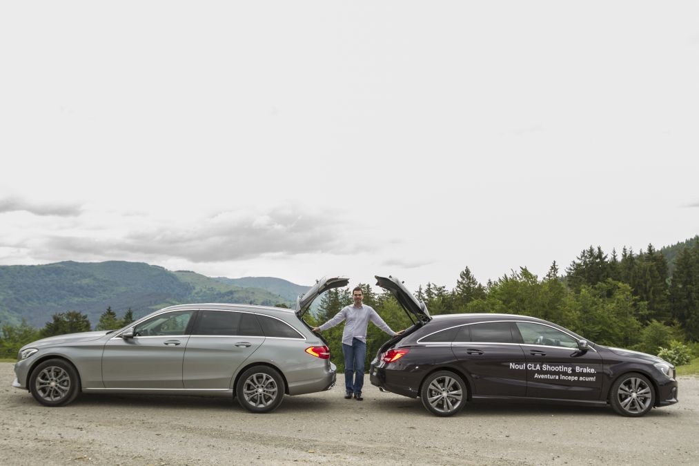 CLA shooting brake vs C Class break 1 (20)