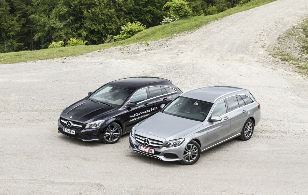 CLA shooting brake vs C Class break 1 (5)