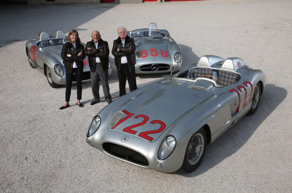 Sir Stirling Moss is back in business at the Goodwood Festival of Speed