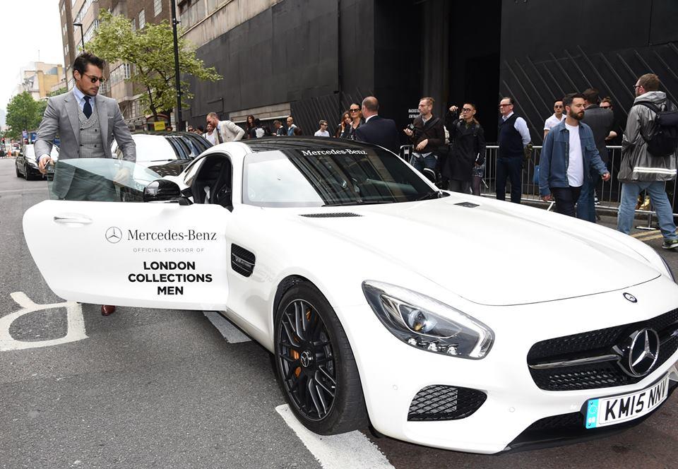 David Gandy Mercedes-AMG GT