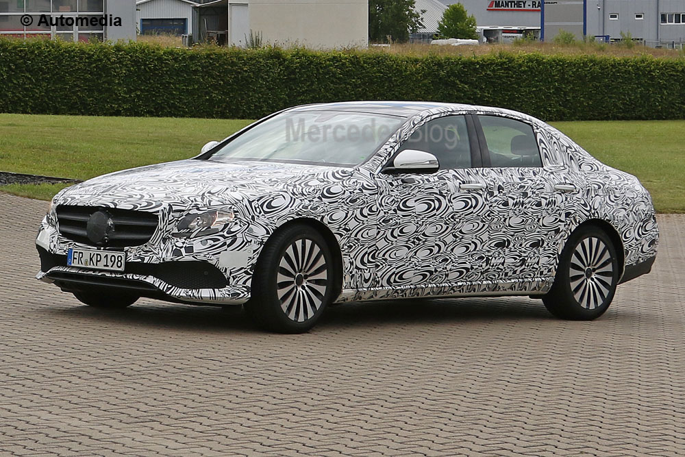 New Mercedes-Benz E-Class spied in AMG guise