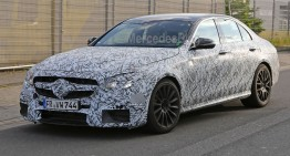 New Mercedes-AMG E 63 might go a little over the top
