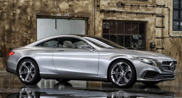 Defying gravity. New video of the S-Class Coupe