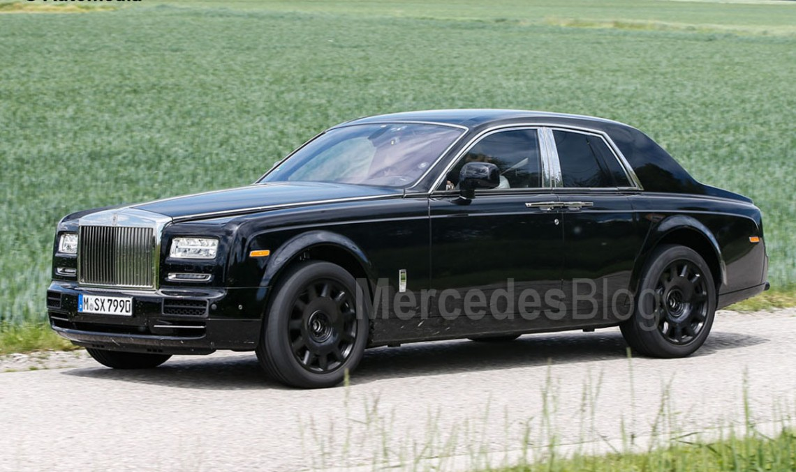 Project Culinnan. First-ever Rolls-Royce SUV spied again