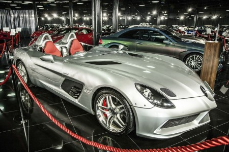 Tiriac collection Mclaren Mercedes SLR 722 Stirling Moss