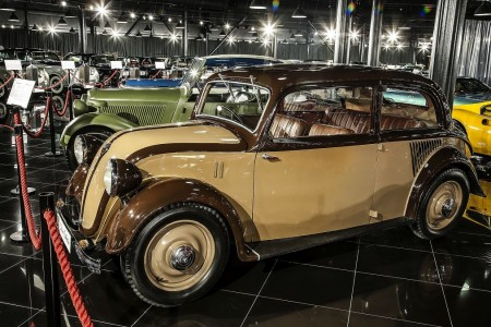 Tiriac collection Mercedes 130 sedan 1934. 2