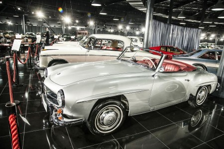 Tiriac collection Mercedes 190 SL 2