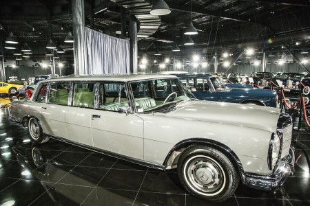 Tiriac collection mercedes 600 Pullman