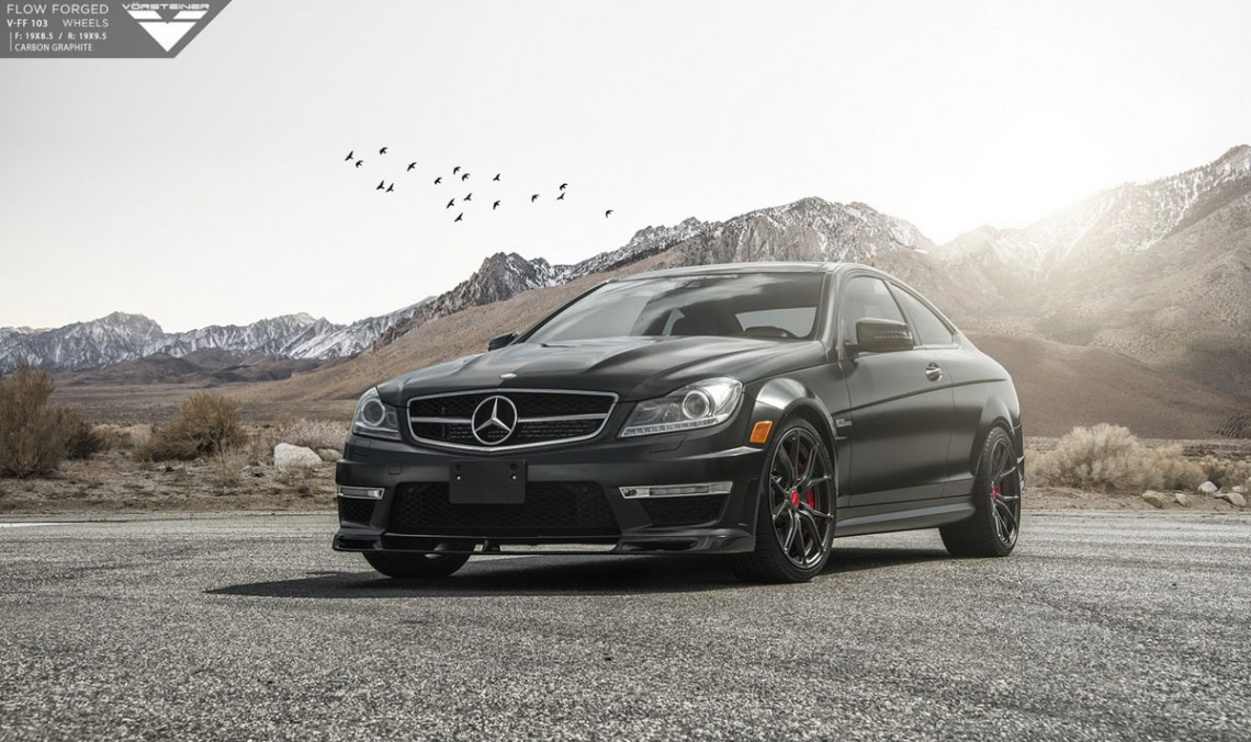 Vorsteiner spices up a previous generation C 63 AMG