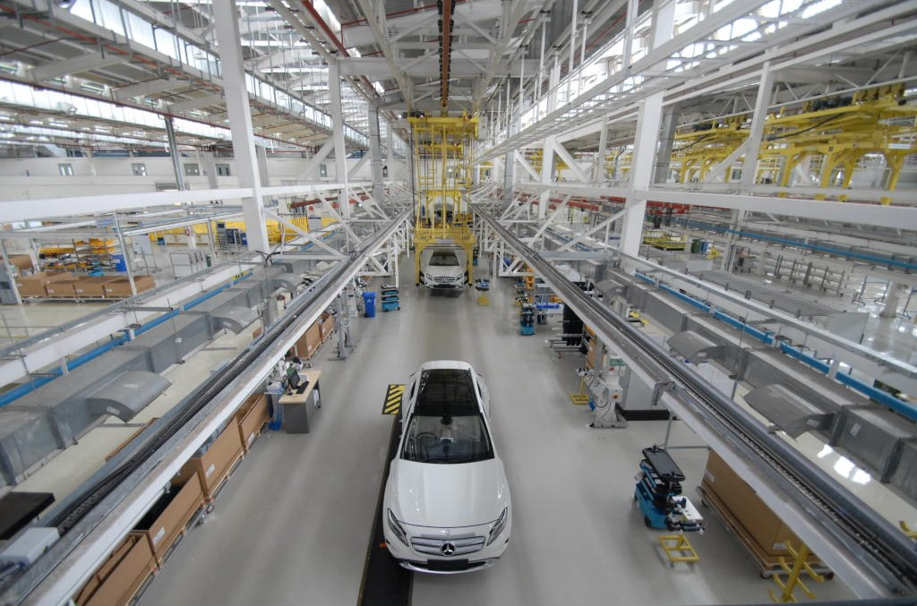 Mercedes-Benz starts GLA assembly in India