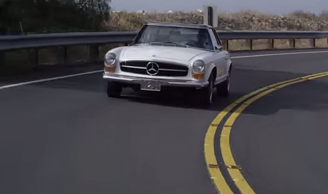Petrolicious acknowledges the beauty of the Mercedes-Benz SL 280