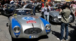 Mercedes-Benz shines at Silvretta Classic 2015