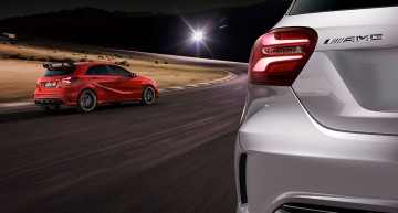 Mercedes-AMG A 45 4MATIC – The Rule Breaker. New photos