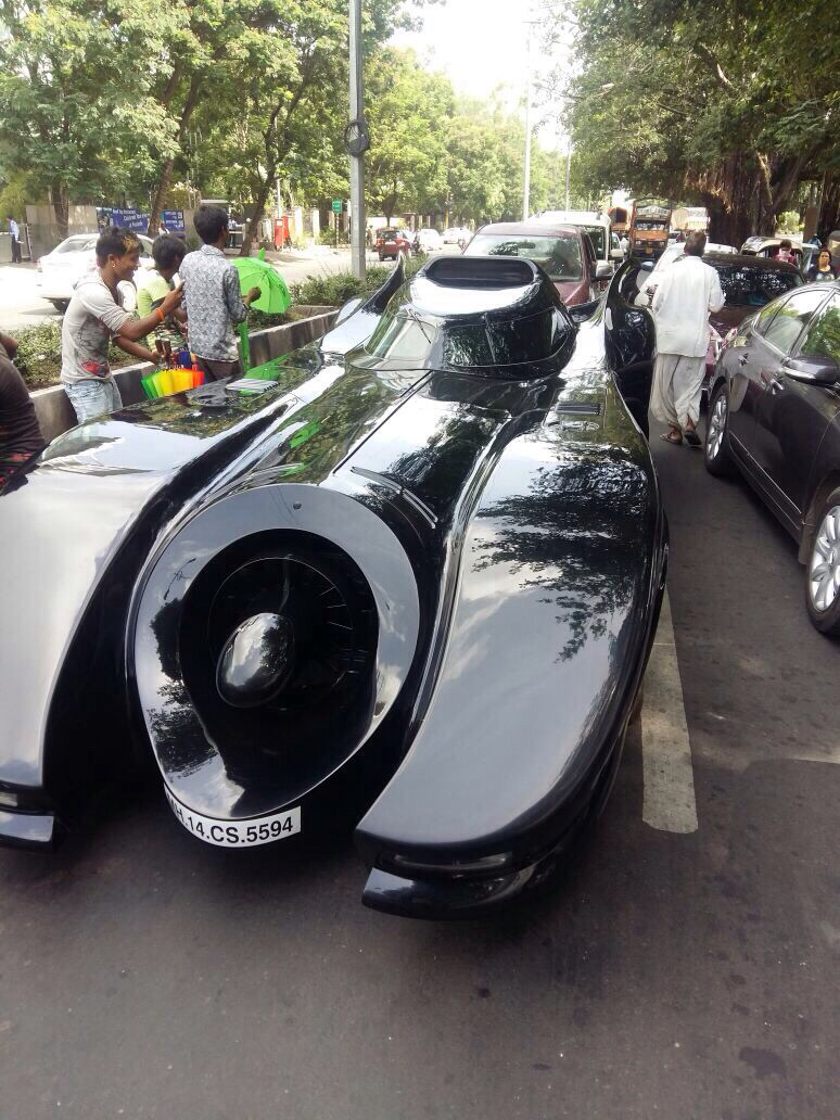 Batmobile-in-Pune-India-2