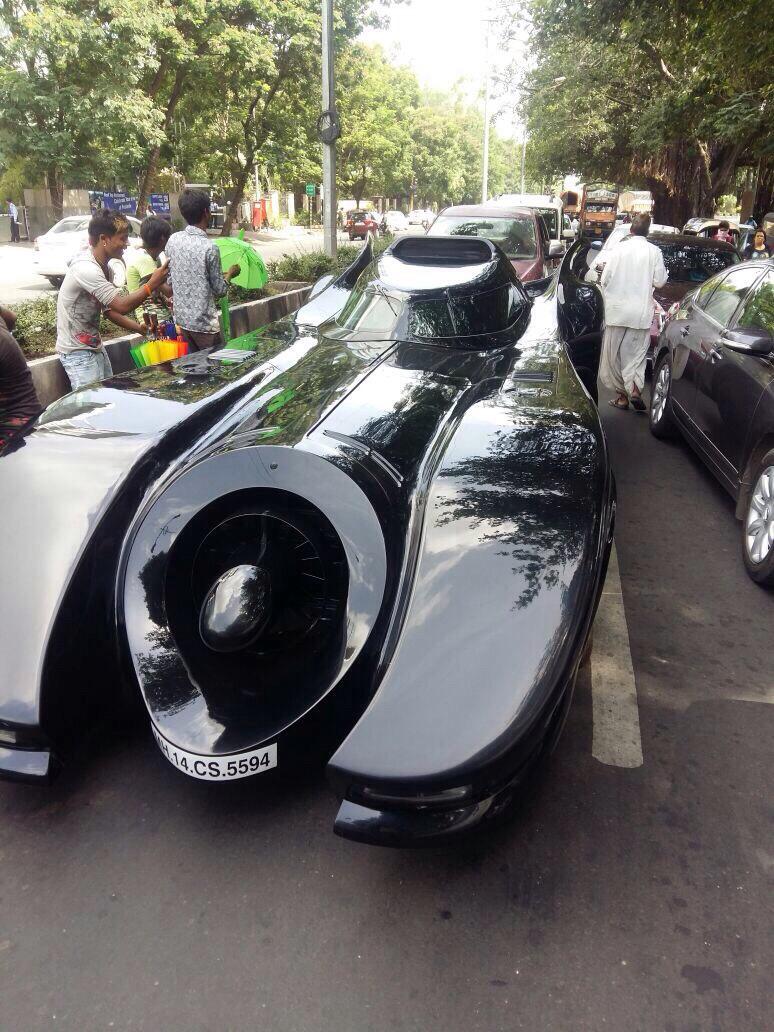 Batmobile-in-Pune-India-2