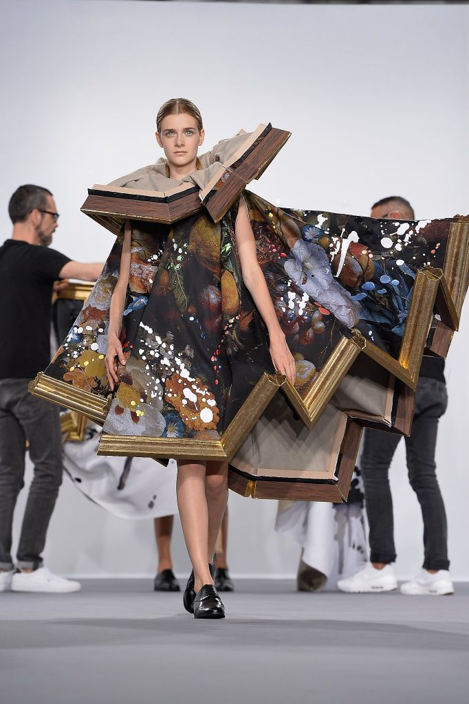 Mercedes benz fashion week brings bizarre looks and crazy for Haute couture designers names