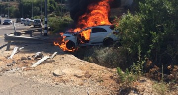 A 45 AMG burned to the ground