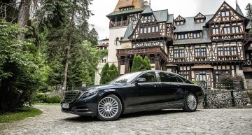 Mercedes-Maybach S 500 review. Super luxury vs little Peles Castle
