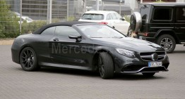 Mercedes-AMG S 63 Cabrio revealed ahead of its time