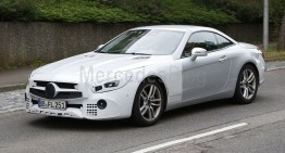 Mercedes-Benz SL roadster is young again – new spy pictures