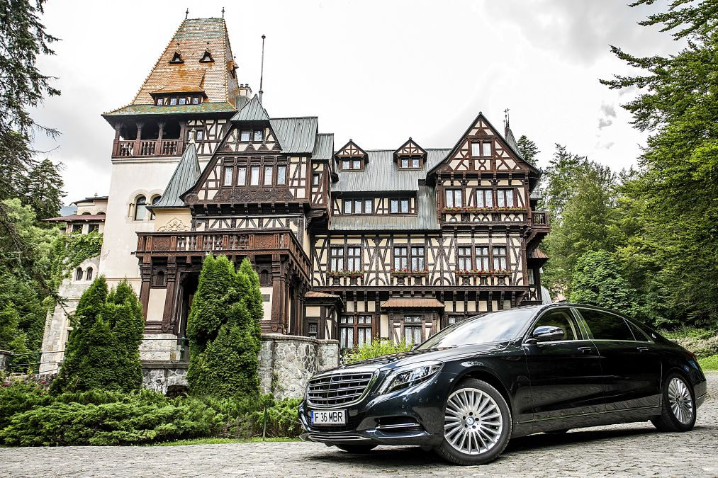 Mercedes maybach S 500 1
