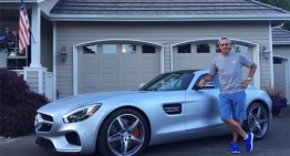 Pro golfer buys Mercedes-AMG GT S