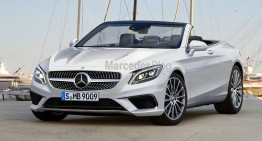All-new Mercedes-Benz S-Class Cabrio revealed