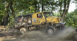 Unimog and Zetros trucks get triple success in extreme rally in Poland